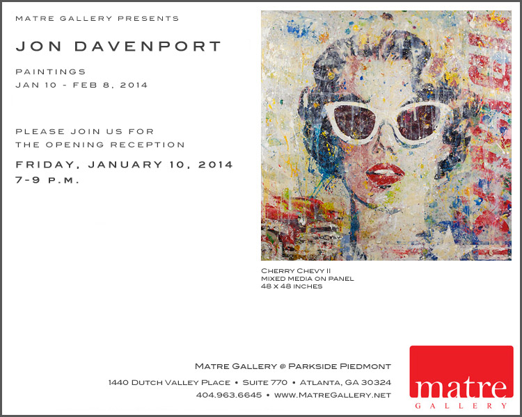January Show Davenport Invite