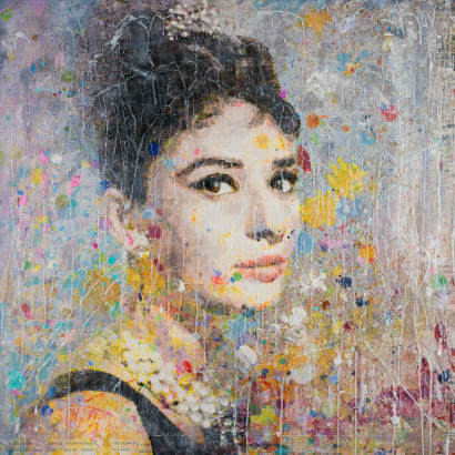 Miss Golightly 36x36