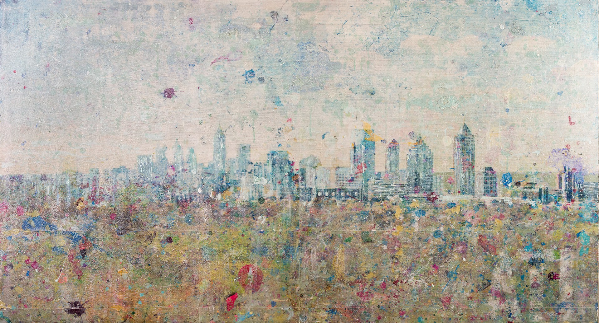 City In A Forest 66x36