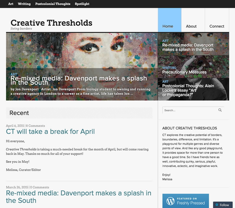 Creative Thresholds