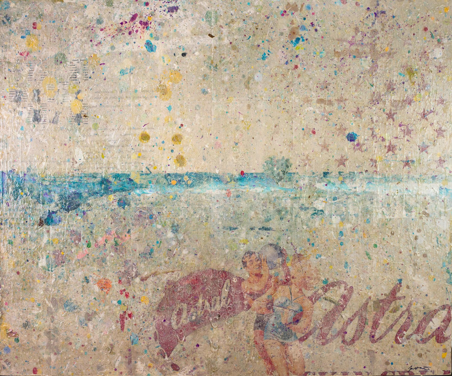 Astral Beach 48x40