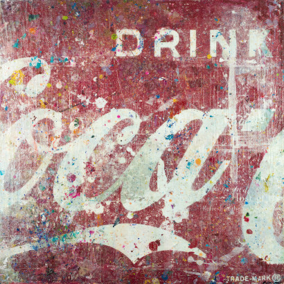 Double Coke I 36x36