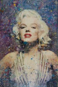 Marilyn On Purple 24x36