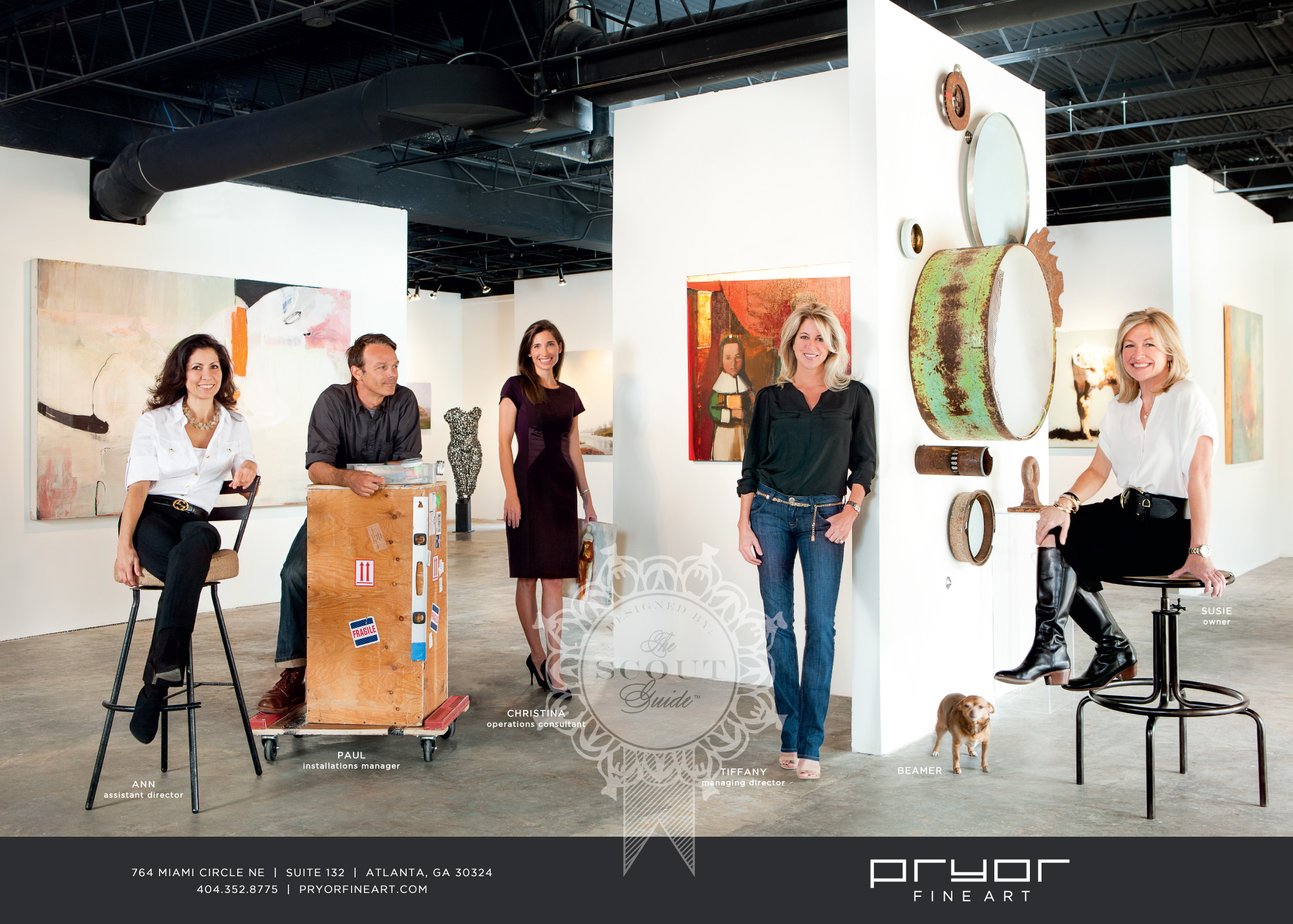 Now Showing at Pryor Fine Art