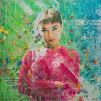 Miss Hepburns Pink Sweater 36x36
