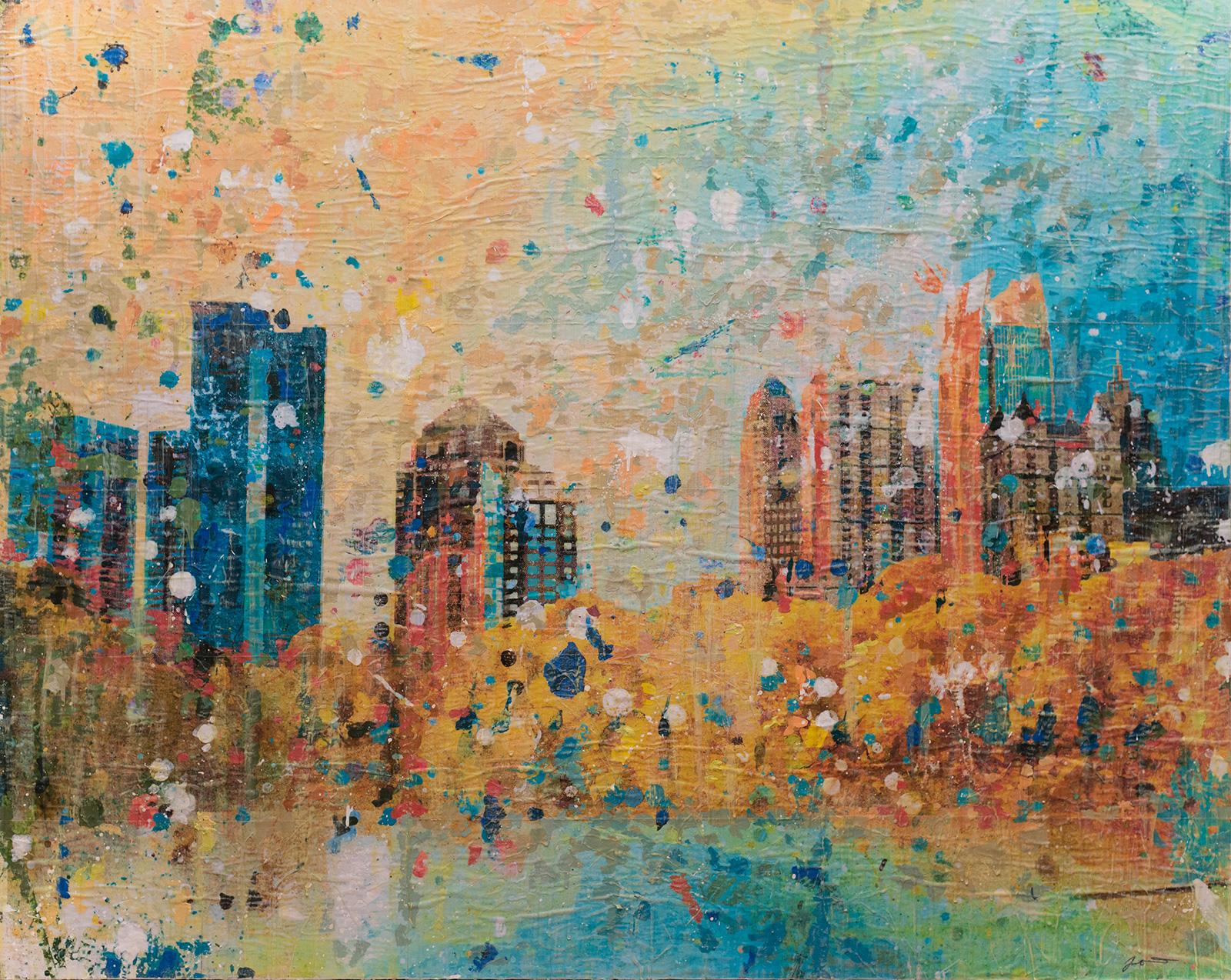 Midtown Magic 60x48