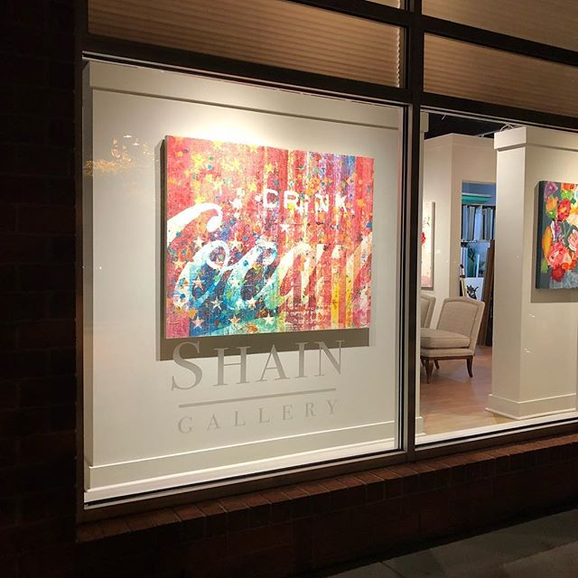 Husband and Wife Show at Shain Gallery
