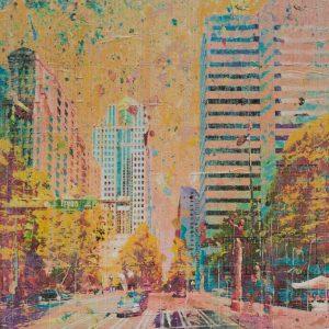 Queen City Crossroads 36x36