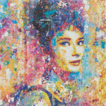 Audrey in Color 36x36