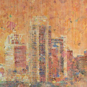 Buckhead Orange Skyline 34x40