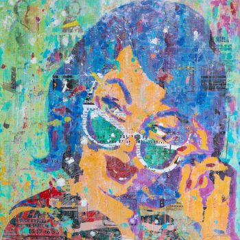 Lipstick And Sunglasses 36x36