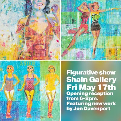 Figurative show at Shain Gallery