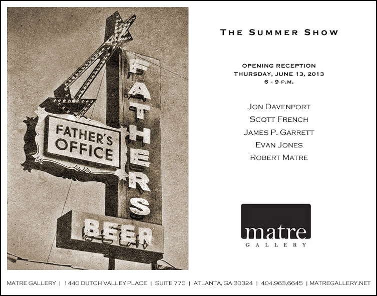 Show at The Matre Gallery – Thurs June 13th 6-9pm