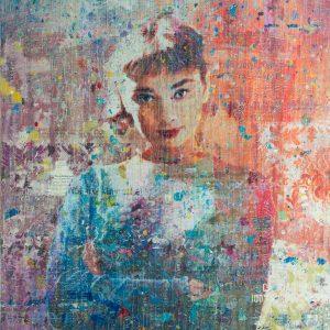 The Charm of Miss Hepburn 40x48