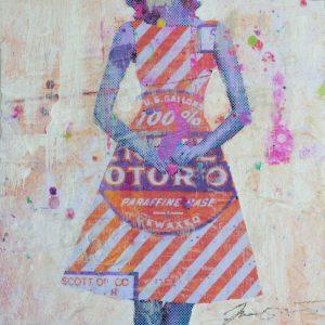 Small Dress II 8x8