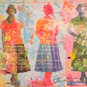 Dress Paper 8x8