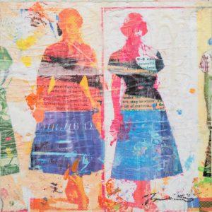 Dress Paper II 8x8
