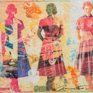Dress Paper IV 8x8