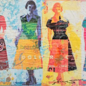 Dress Paper V 8x8
