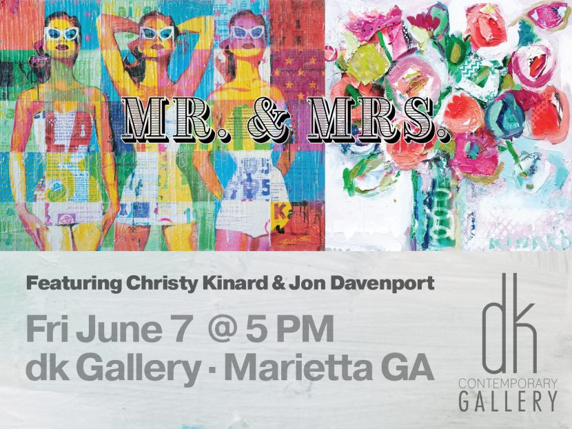 mr and mrs artshow at dk gallery june 7