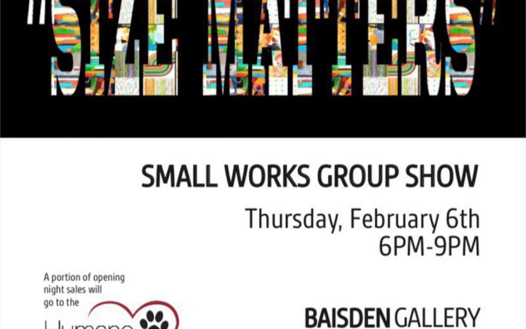 Small works show at Baisden Gallery in Tampa