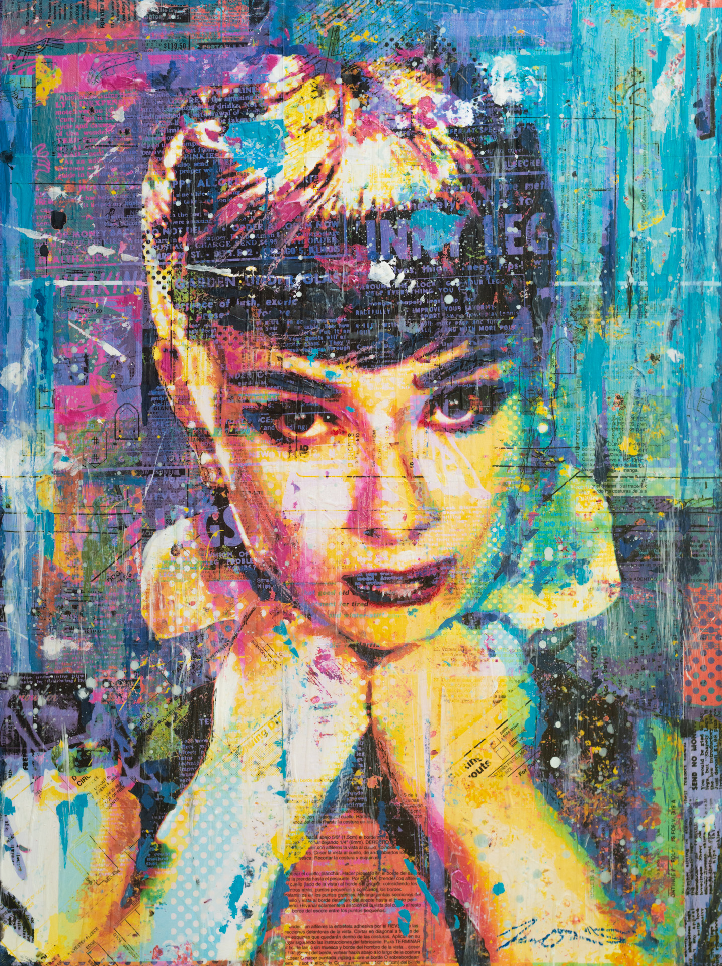 Dreaming of Audrey 36x48