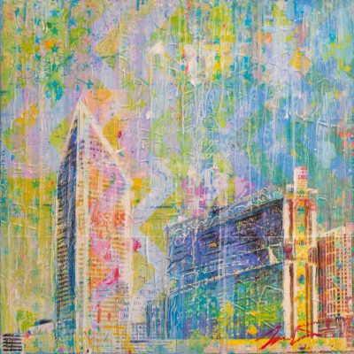 Charlotte Downtown I 24x24