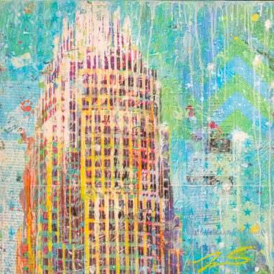 Charlotte Downtown II 24x24