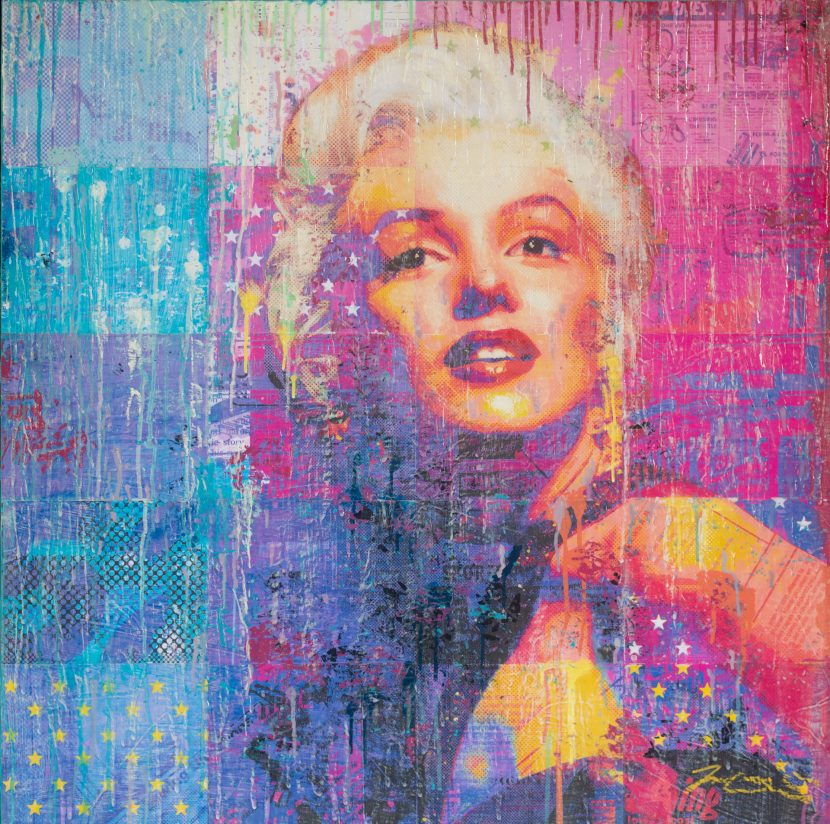 Dreaming Of Norma Jean 36x36
